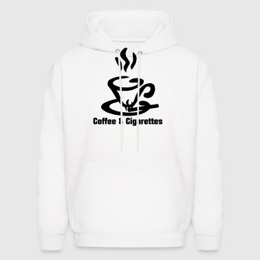 Coffee and Cigarettes  - Men's Hoodie