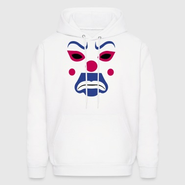 clown joker mask - Men's Hoodie