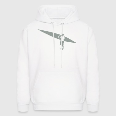 Sea kayaker and Kayak flex design - Men's Hoodie
