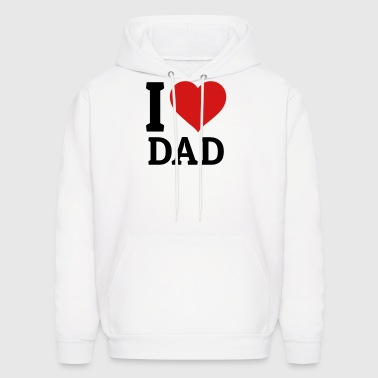 I love Dad - Men's Hoodie