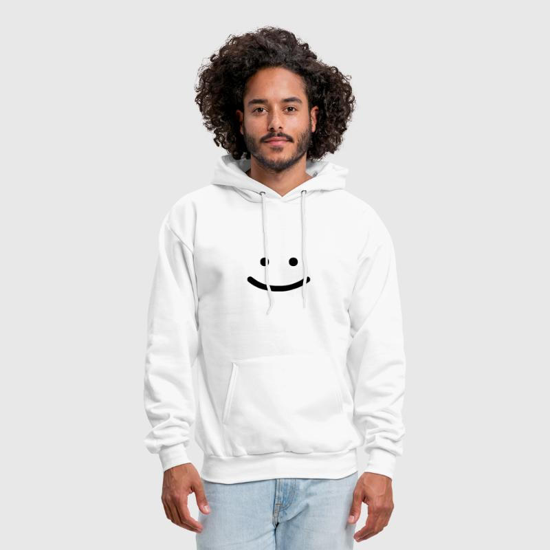 Simple Smiley - Men's Hoodie