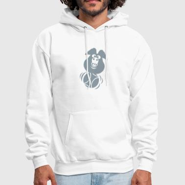 Petanque petanque ball pig head - Men's Hoodie