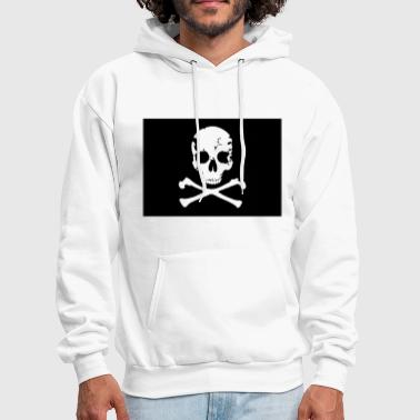 Pirate, Pirat Flag - Men's Hoodie