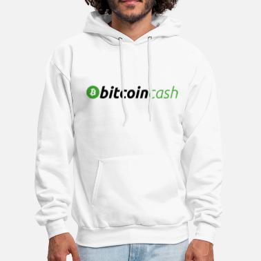 Cash Bitcoin Cash Logo (Green) - Men's Hoodie