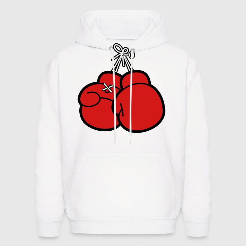 Boxing Gloves (2c)++ - Men's Hoodie