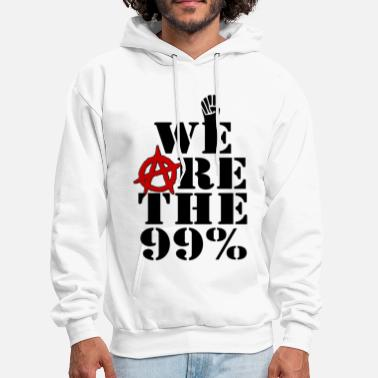 Wall We Are The 99% Occupy Wall Street - Men's Hoodie