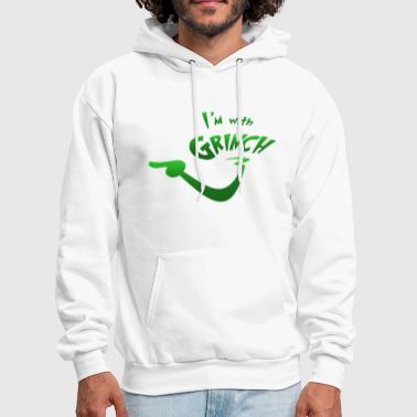 I'm with Grinch - Men's Hoodie