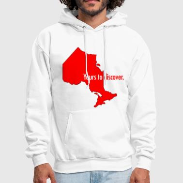 Ontario: Yours to discover - Men's Hoodie