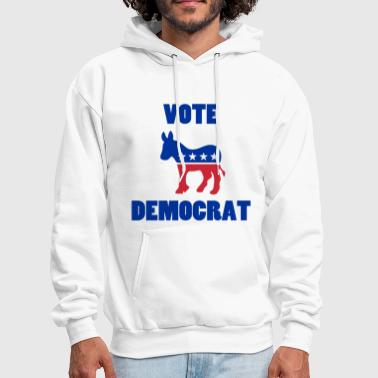 Democratic Party Vote Democrat - Men's Hoodie