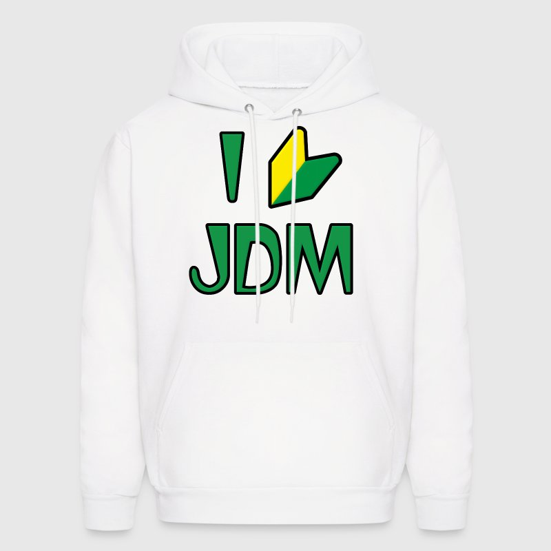 I Love JDM Drifting Wabaka Soshinoya - Men's Hoodie