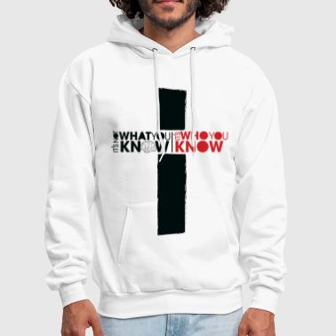 Who You Know - Men's Hoodie