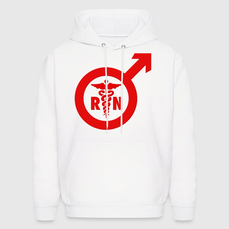 Murse Male Nurse Symbol - Men's Hoodie