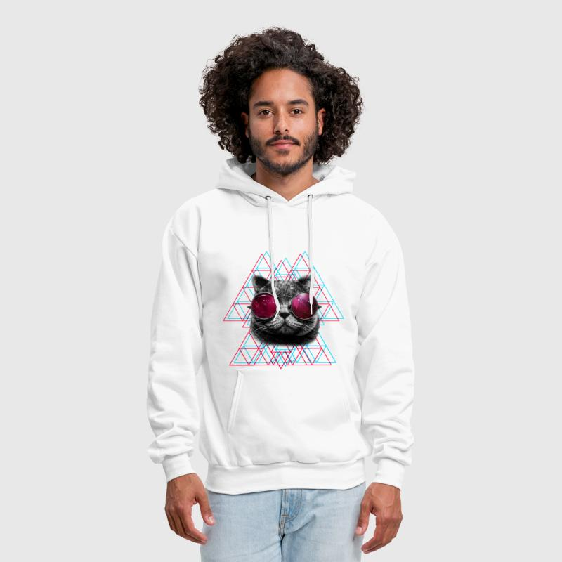 3D Space Cat T Shirt (Mens) - Men's Hoodie