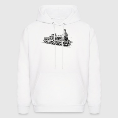 Steam Locomotive - Men's Hoodie