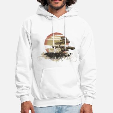 Cool Bonsai Scene - Men's Hoodie