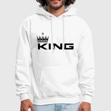 Queen And King KING - Men's Hoodie