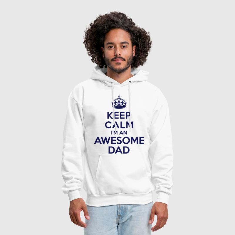 Keep calm Awesome Dad - Men's Hoodie