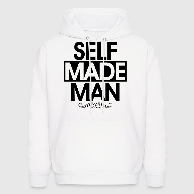self made man - Men's Hoodie