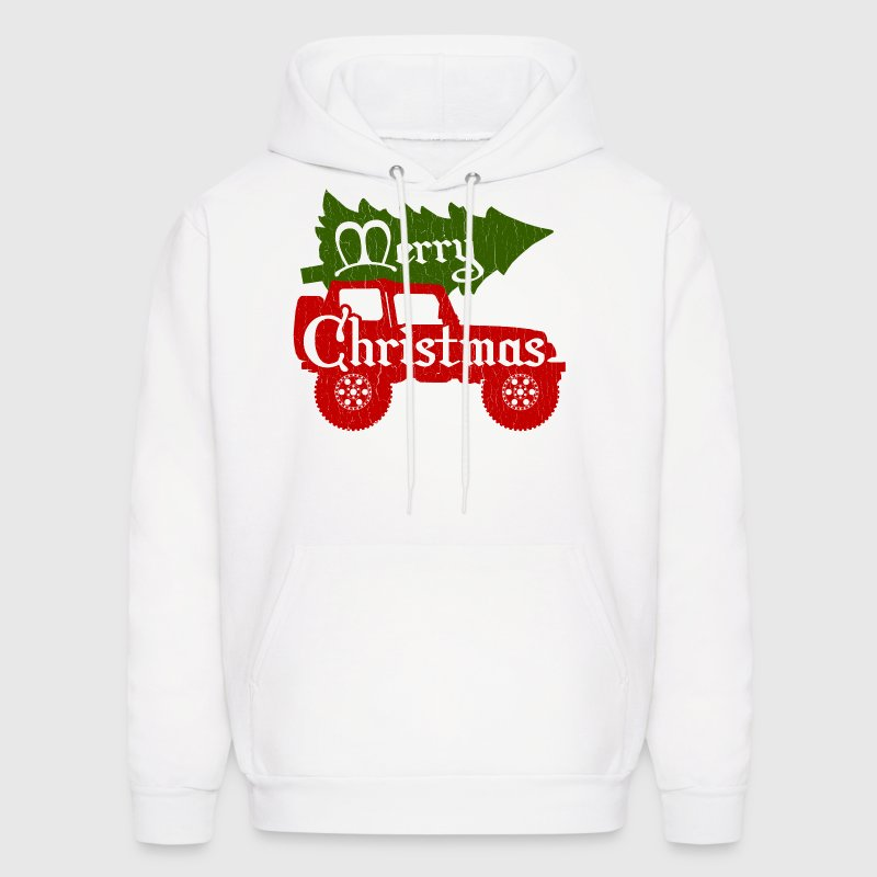 Merry Christmas 4x4 (vintage look) - Men's Hoodie