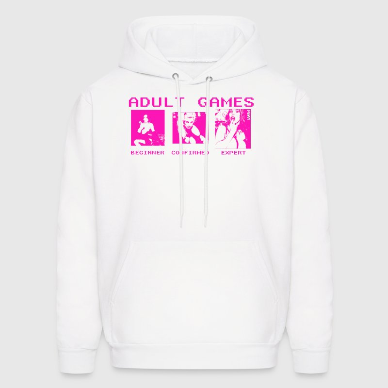 adult games by wam - Men's Hoodie