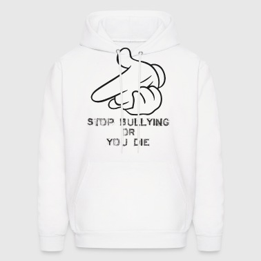 air guns stop_bullying - Men's Hoodie