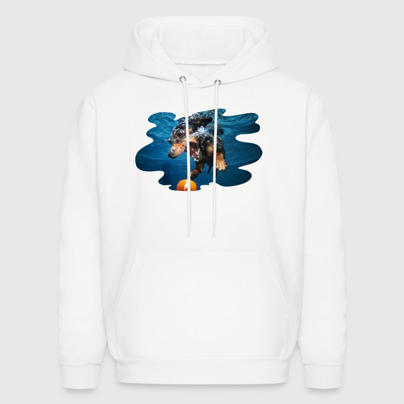 Underwater Dogs Rhoda by Seth Casteel - Men's Hoodie