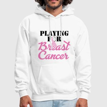 Morality Playing For Breast Cancer - Men's Hoodie