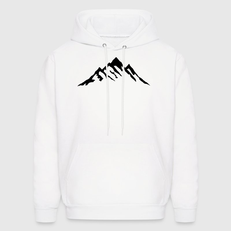 Mountain, Mountains - Men's Hoodie