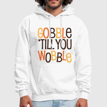 gobble_till_you_wobble - Men's Hoodie