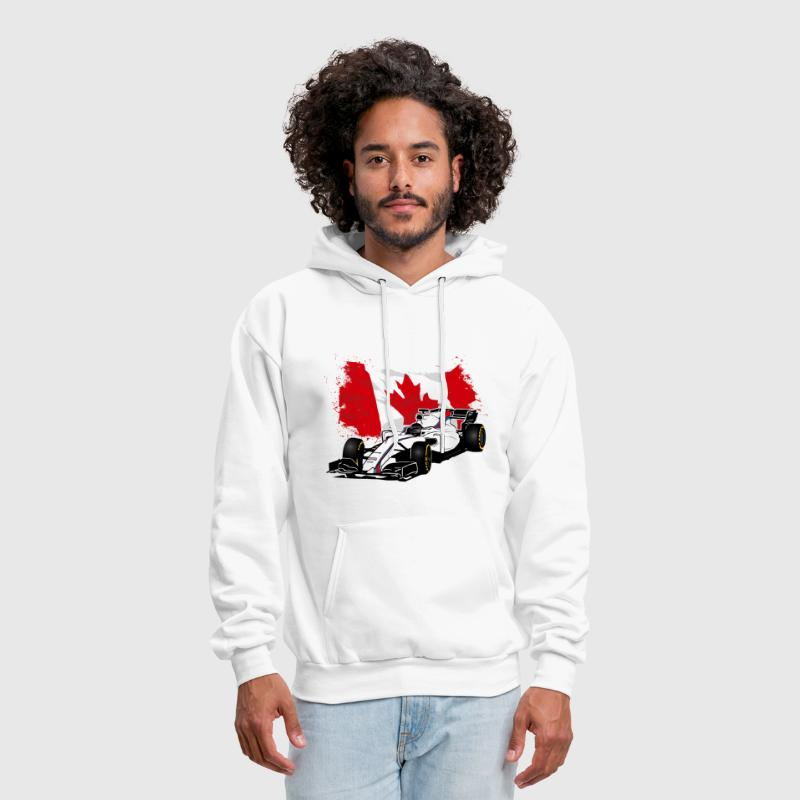 Formula One - Formula 1 - Canada Flag - Men's Hoodie