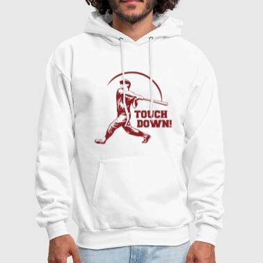 Touch Touch Down Funny - Men's Hoodie