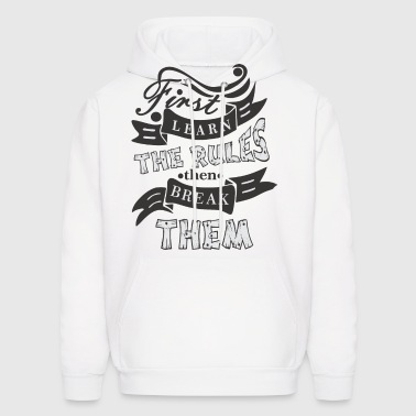 The Rules - Men's Hoodie