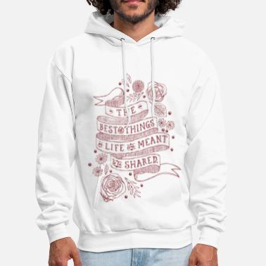 Best Friends Best Things in life - Men's Hoodie