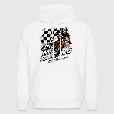 Motocross - Moto Cross - MX - Supercross - SX - Men's Hoodie
