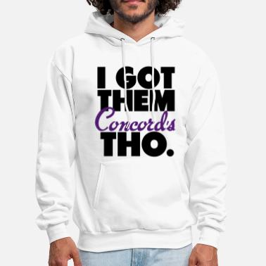 Jordan Got Them Concord Jordan Lows Tho Retro Shirt - Men's Hoodie