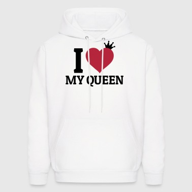 I love my Queen - Men's Hoodie