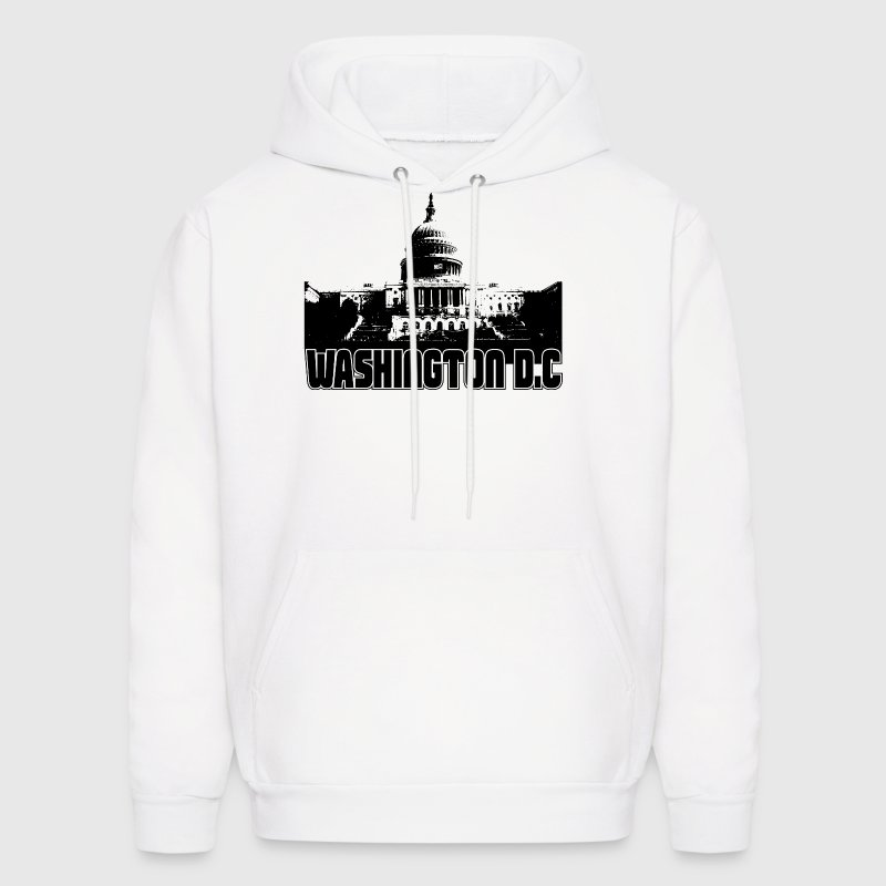 Washington DC Skyline - Men's Hoodie