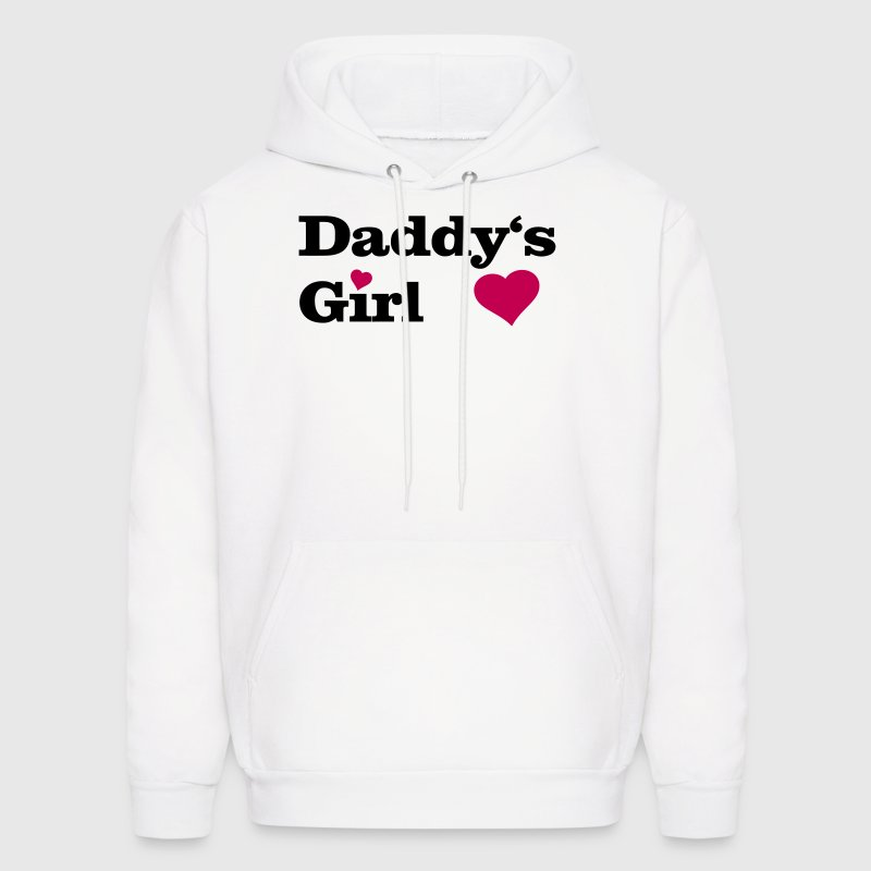 Daddy's Girl I Love Dad daddy i heart - Men's Hoodie