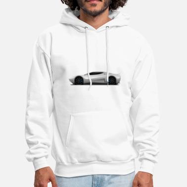 Super Car Super Car Vector Illustration - Men's Hoodie