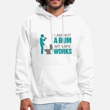 Unemployment Not A Bum 2 (dd)++2012 - Men's Hoodie