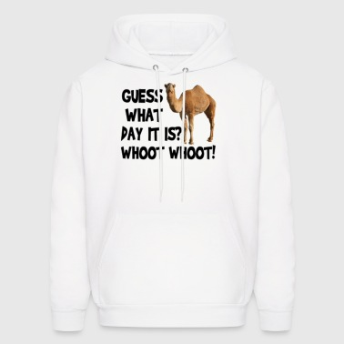 Hump Day Camel Whoot Whoot! - Men's Hoodie