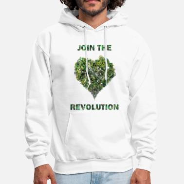 Earth Day &amp join the revolution - Men's Hoodie