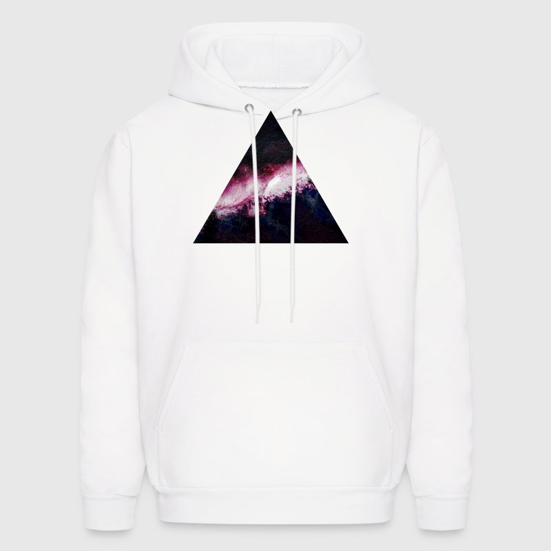 triangle galaxy - Men's Hoodie