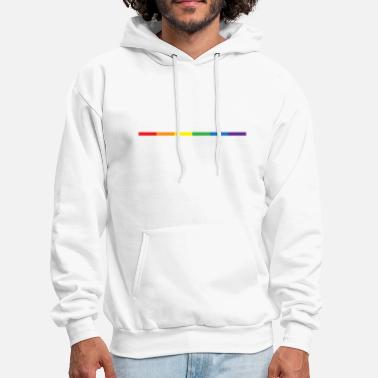 Gay Gay Rainbow Symbol - Men's Hoodie