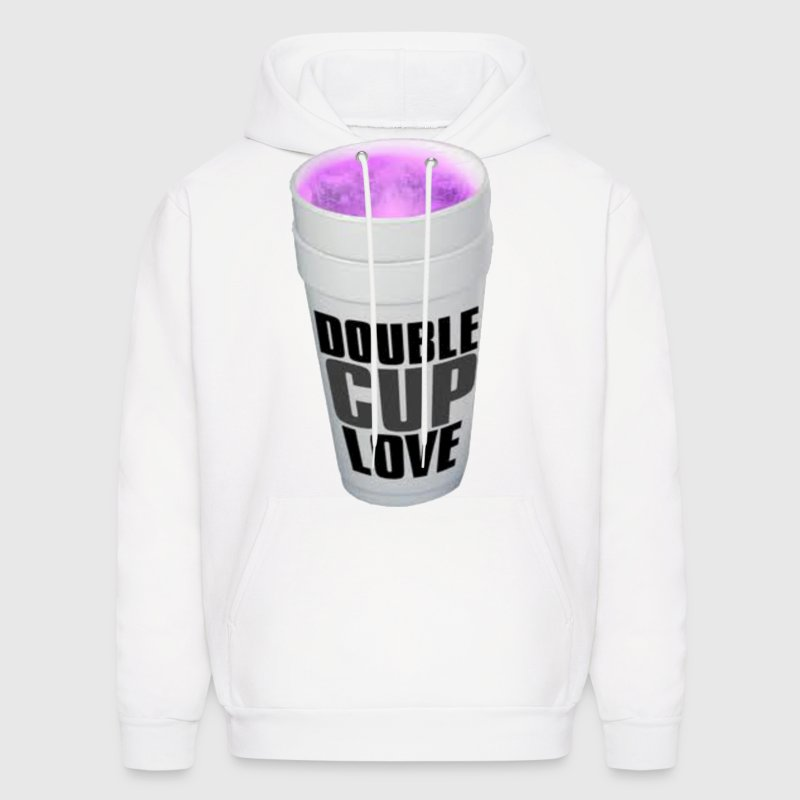 Double cup love. - Men's Hoodie