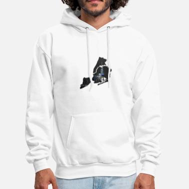 New-york-city NY NYC New York City USA Brooklyn Queens Broadway - Men's Hoodie