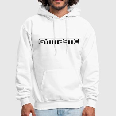 Gymtastic - cutted black - Front - Gymwear - Men's Hoodie