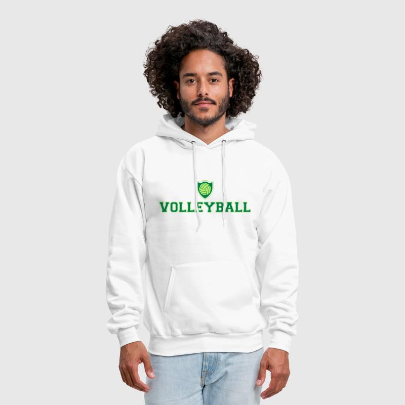 Volleyball and shield - Men's Hoodie