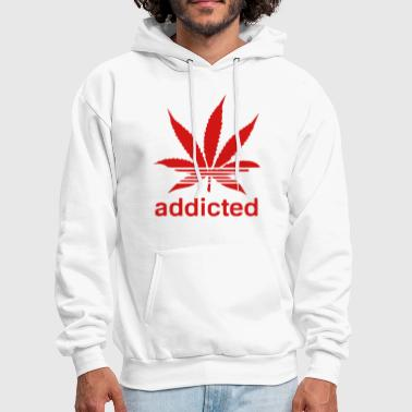WEED ADDICTED - Men's Hoodie