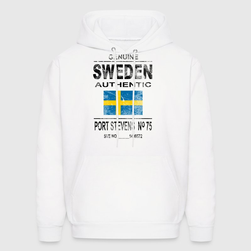 Sweden Flag - Vintage Look - Men's Hoodie